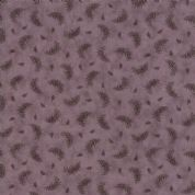 Moda Quill by 3 Sisters - 5621 - Feather Print on Plum - 44158 17 - Cotton Fabric